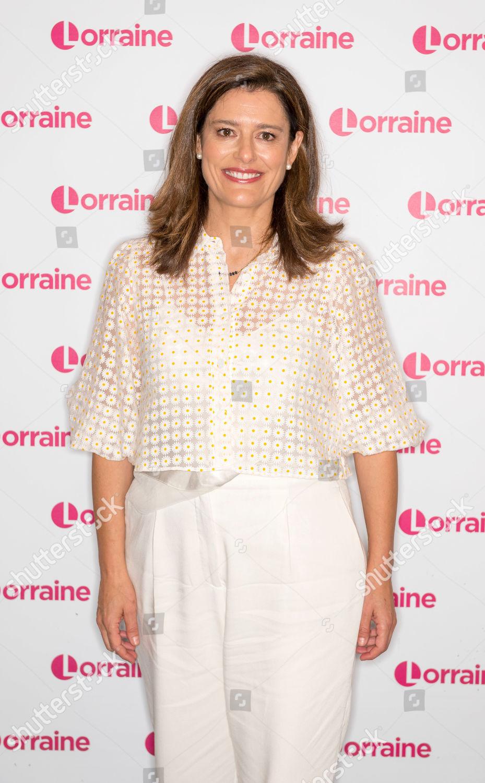 Stock photo of 'Lorraine' TV show, London, UK - 16 Oct 2019