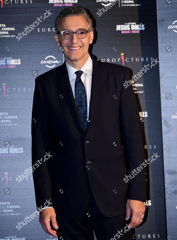 John Turturro poses premiere his movie The Editorial Stock