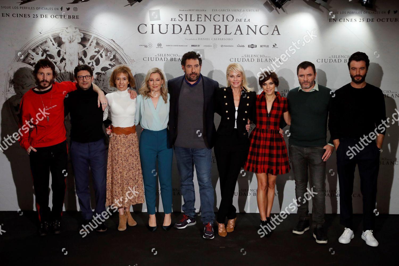 Stock photo of 'The Silencio de la Ciudad Blanca', Madrid, Spain - 23 Oct 2019
