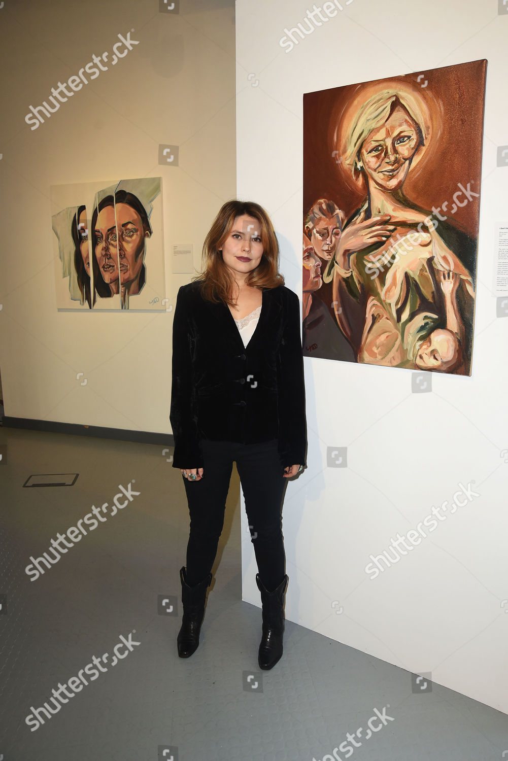 Triana Largest Solo Exhibition Date Introducing New Body Editorial Stock Photo Stock Image Shutterstock