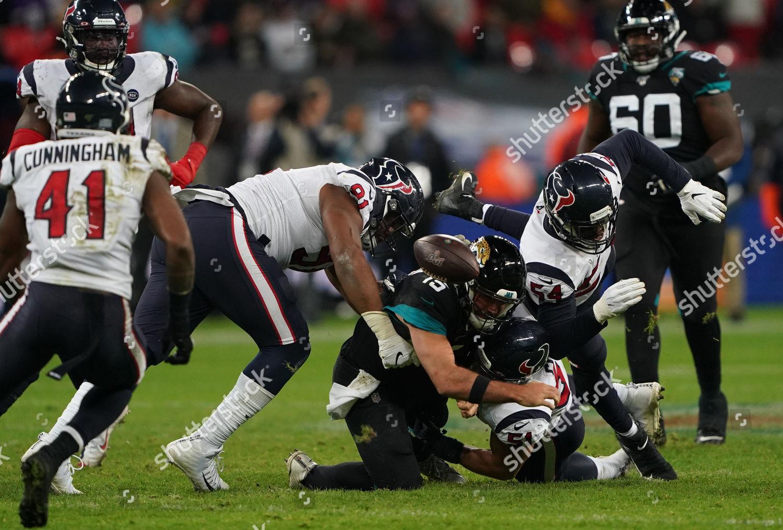 Stock photo of Houston Texans v Jacksonville Jaguars, NFL, American Football, Wembley Stadium, London, UK - 03 Nov 2019