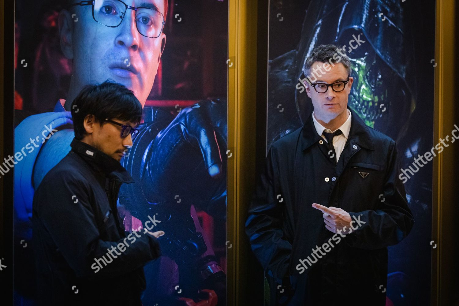 Stock photo of Death Stranding: Bridging the Worlds of Film and Games, Arrivals, London, UK - 01 Nov 2019