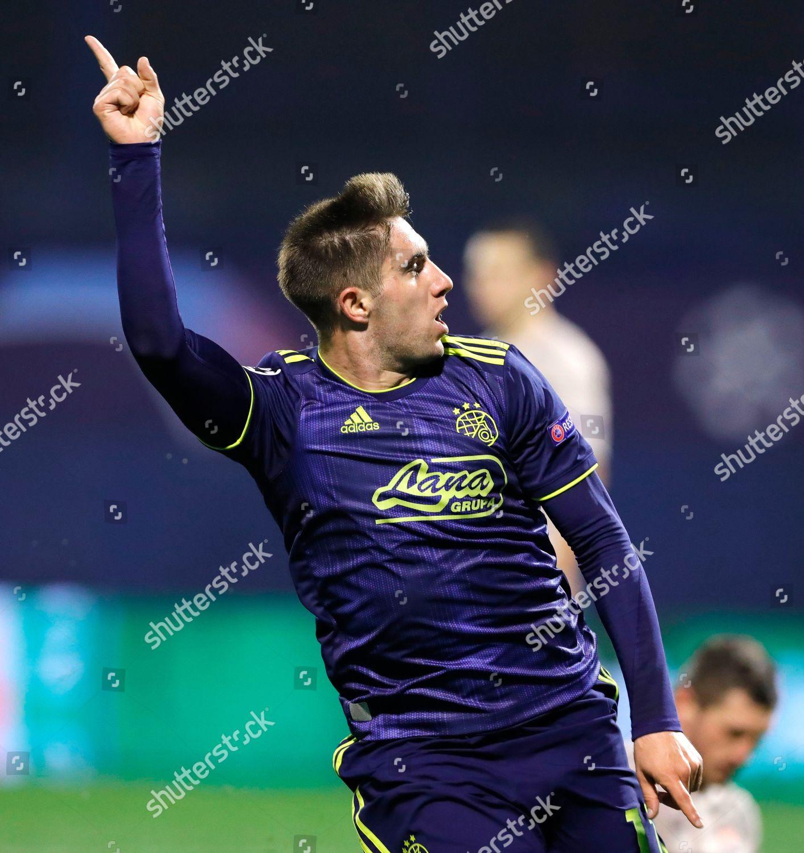 Dinamos Luka Ivanusec Celebrates Scoring Goal During Editorial Stock Photo Stock Image Shutterstock