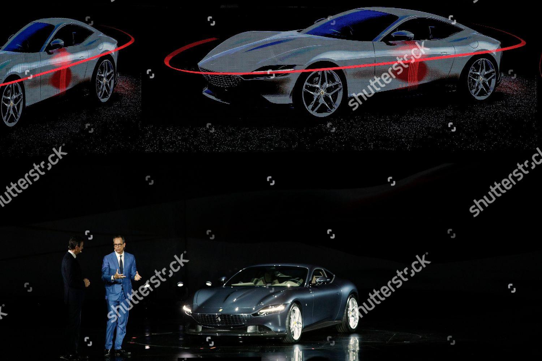 Ferrari Chief Marketing Commercial Officer Enrico Galliera Editorial Stock Photo Stock Image Shutterstock