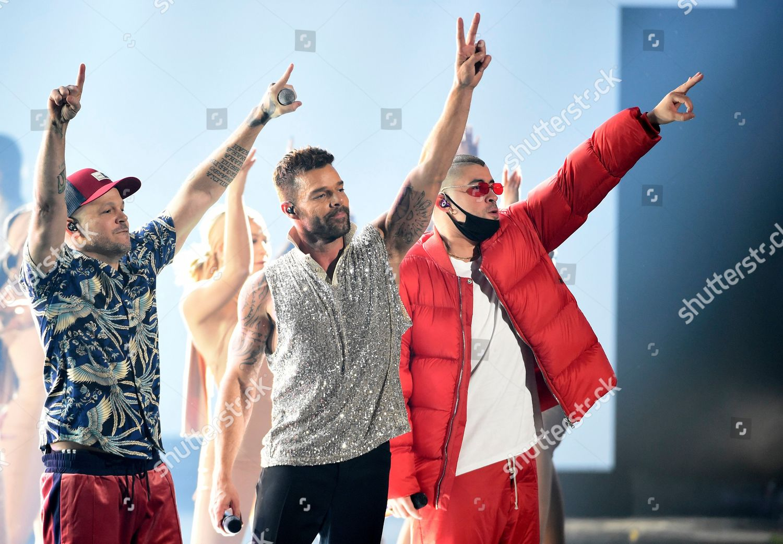 Residente Ricky Martin Bad Bunny Residente Left Editorial Stock Photo Stock Image Shutterstock
