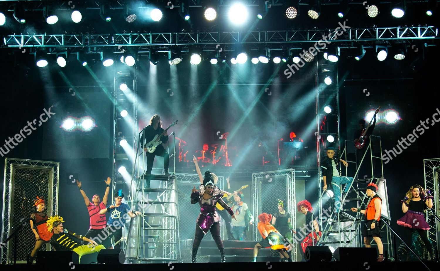Cast We Will Rock You Editorial Stock Photo Stock Image Shutterstock