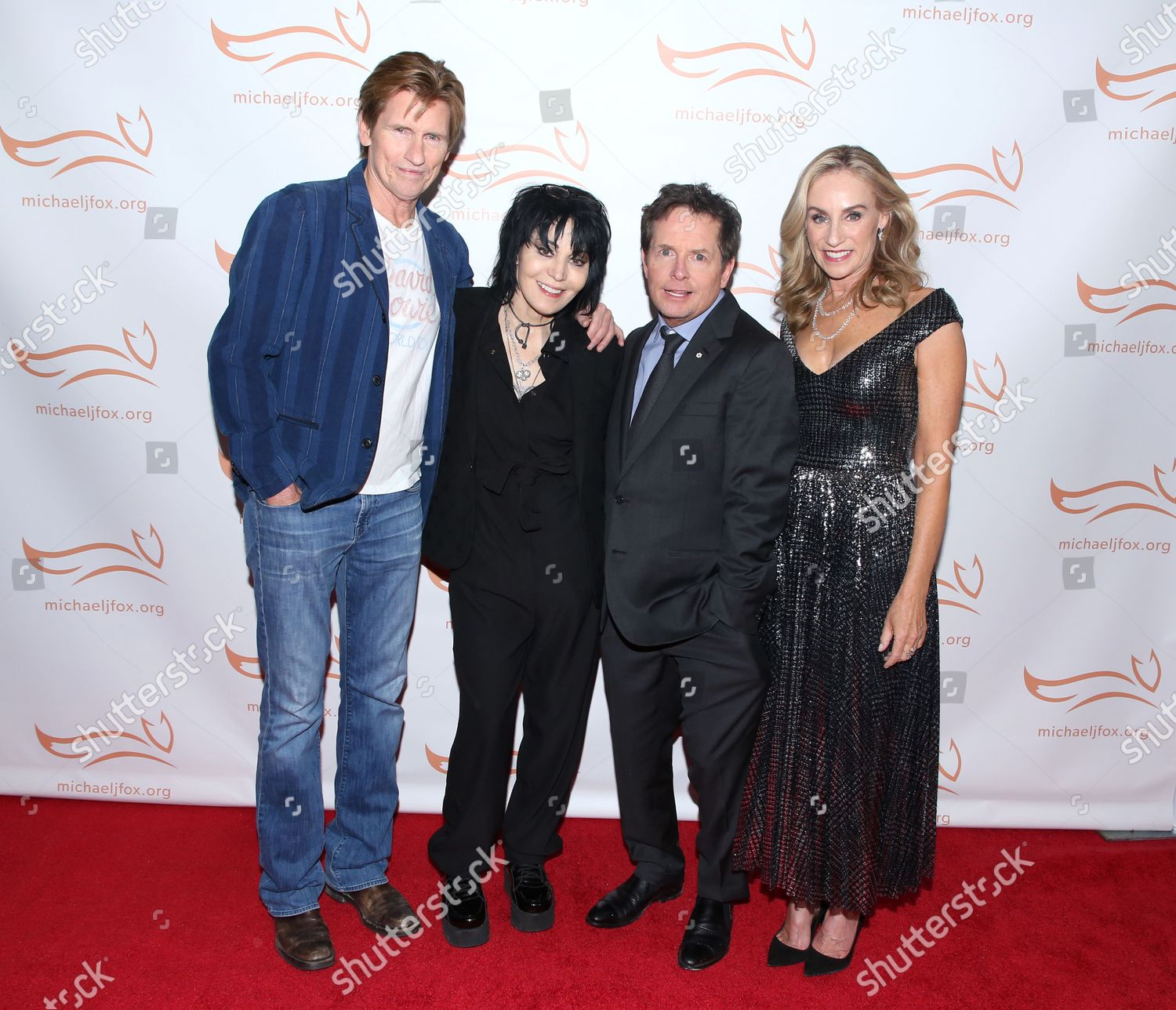 Stock photo of 'A Funny Thing Happened on the Way to Cure Parkinson's' Gala, Arrivals, New York, USA - 16 Nov 2019