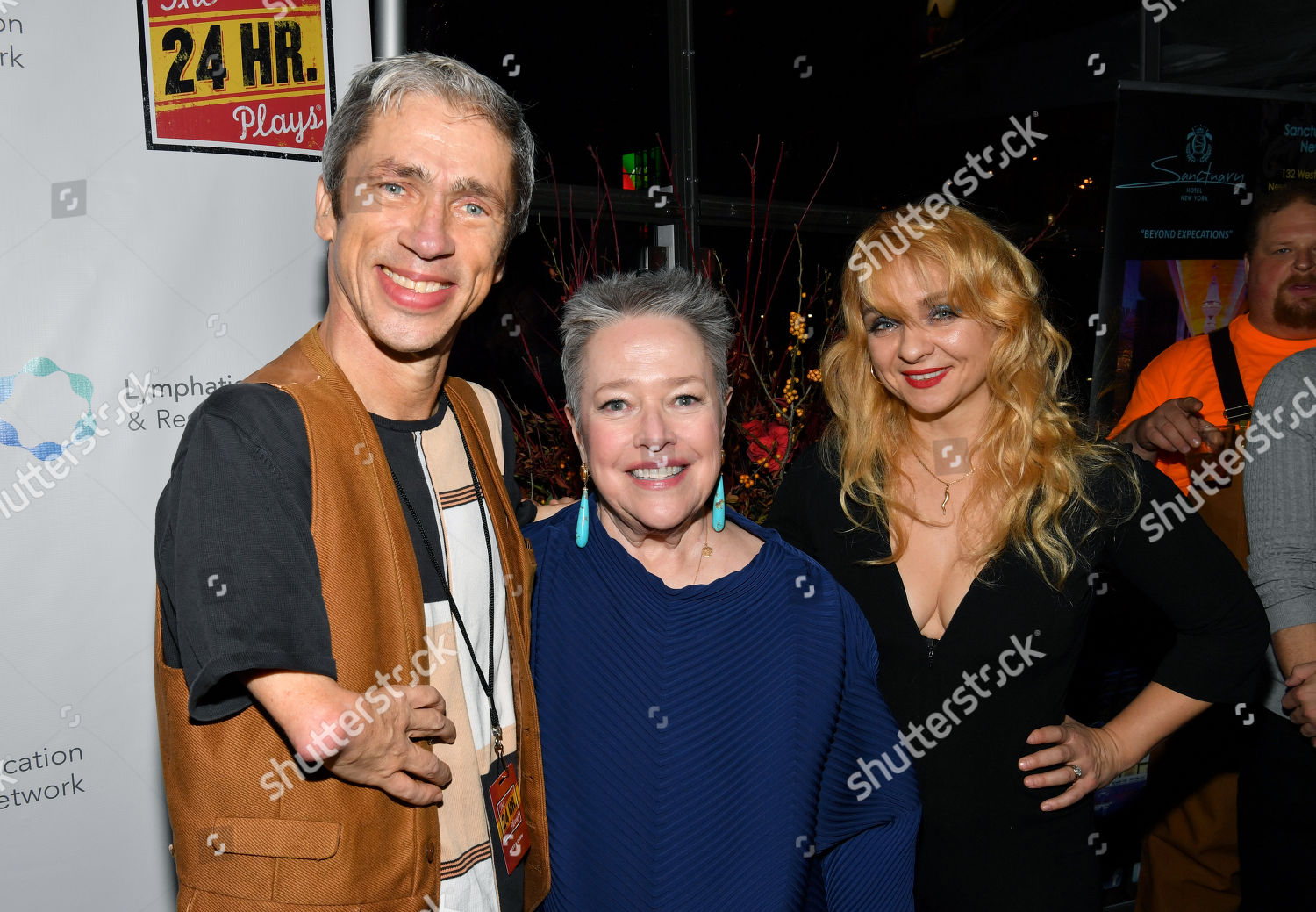 Stock photo of The 24 Hour Plays 19th Annual Broadway Gala, Arrivals, Laura Pels Theater, New York, USA - 18 Nov 2019