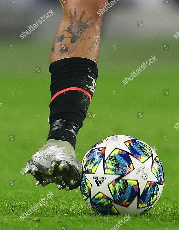 Tattoo On Leg Paulo Dybala Juventus Editorial Stock Photo Stock Image Shutterstock
