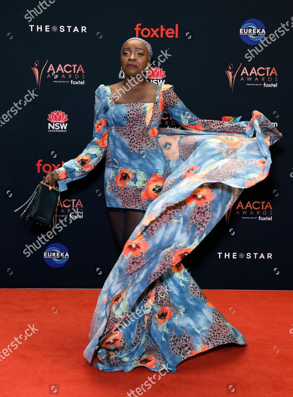 Ugandanaustralian Actress Suzan Mutesi Arrives 2019 Australian Editorial Stock Photo Stock Image Shutterstock