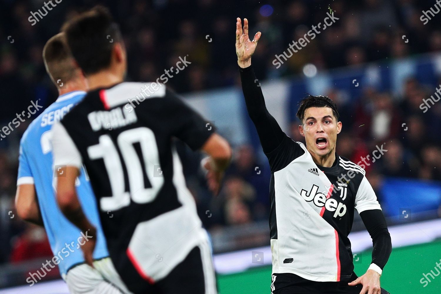 Cristiano Ronaldo Juventus Protests Against Referee During Editorial Stock Photo Stock Image Shutterstock