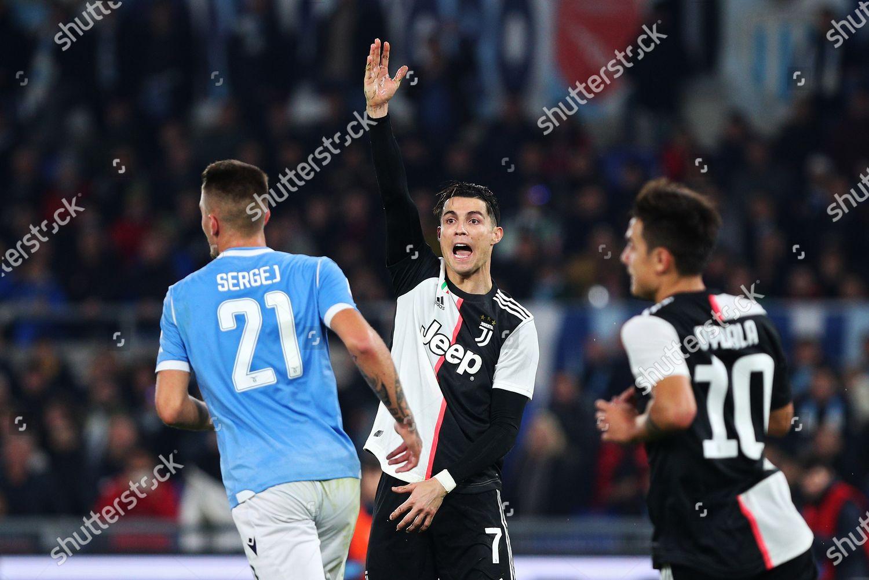 Cristiano Ronaldo Juventus C Protests Against Referee Editorial Stock Photo Stock Image Shutterstock