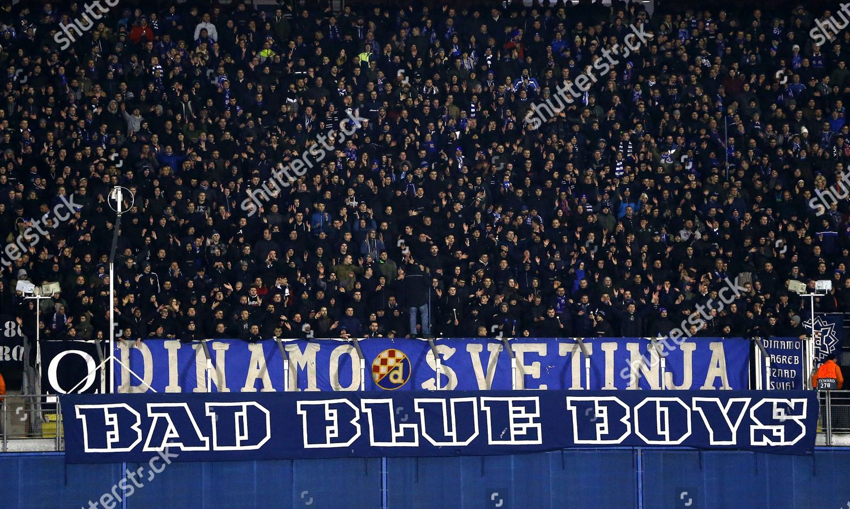 Dinamo Zagreb Supporters Bad Blue Boys Editorial Stock Photo Stock Image Shutterstock