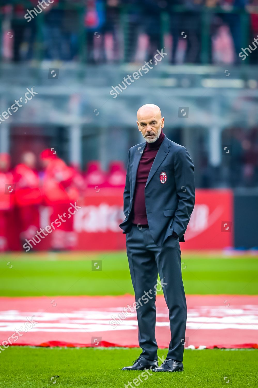 Coach Stefano Pioli Ac Milan Editorial Stock Photo Stock Image Shutterstock