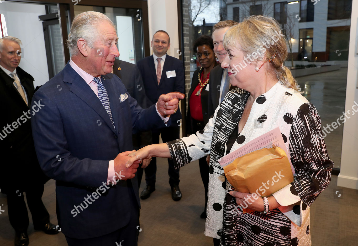 Stock photo of Opening of the Prince's Trust New South London Centre, UK - 17 Dec 2019