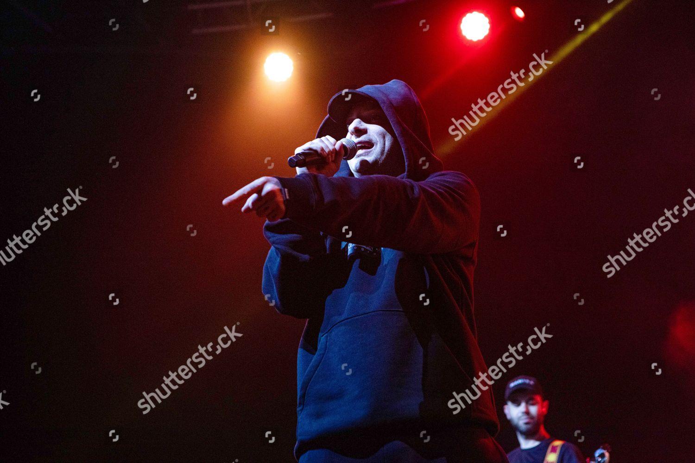Italian Rapper Clementino Concert During Tarantelle Tour Editorial Stock Photo Stock Image Shutterstock