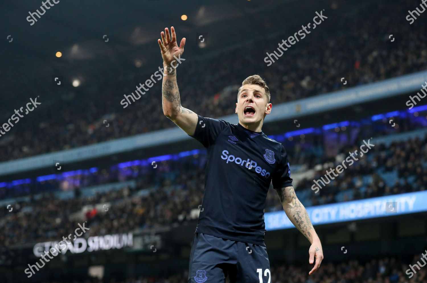 Lucas Digne Everton Editorial Stock Photo Stock Image Shutterstock
