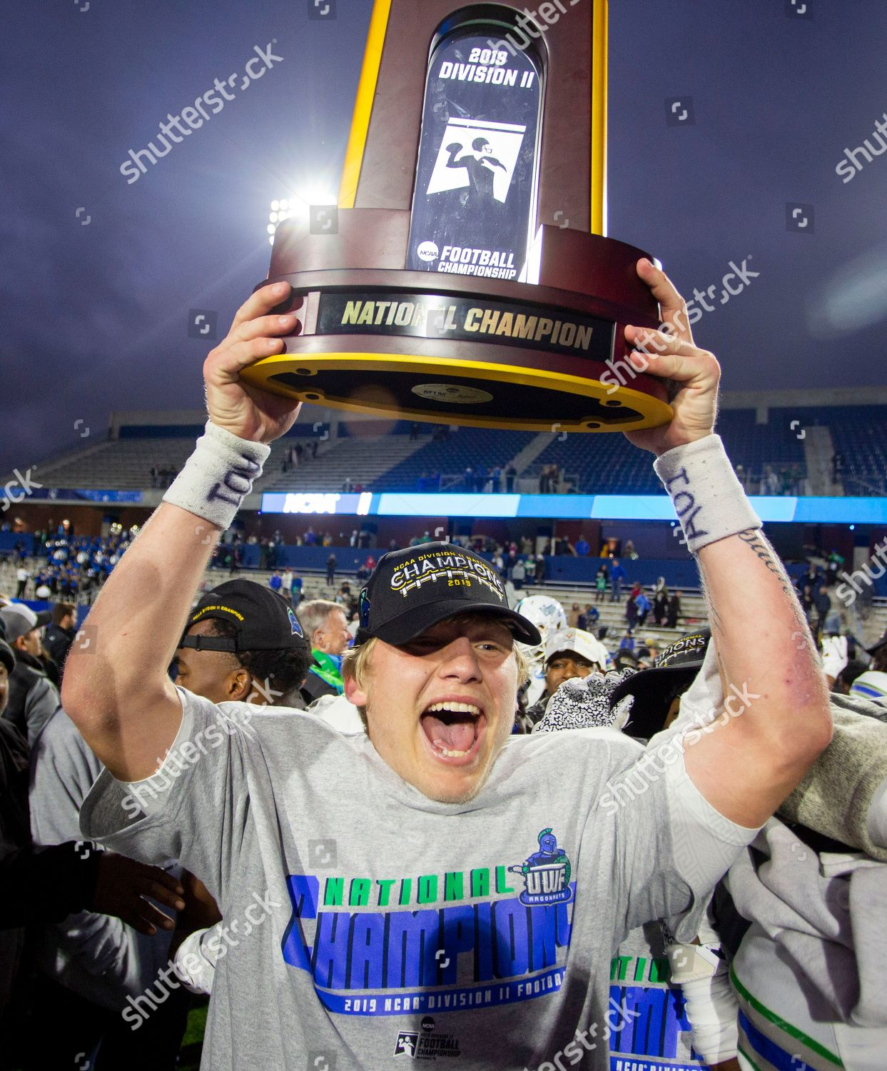West Florida Quarterback Austin Reed Celebrates After Editorial Stock Photo Stock Image Shutterstock