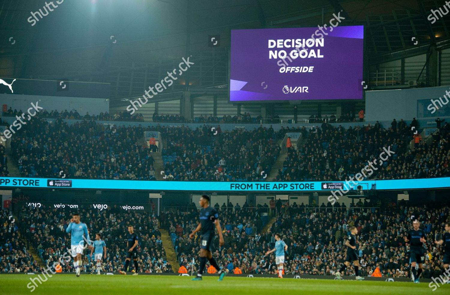 Scoreboard Displays Var Decision During English Premier Editorial Stock Photo Stock Image Shutterstock