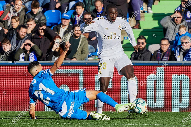 Ferland Mendy Real Madrid Faycal Fajr Getafe Editorial Stock Photo