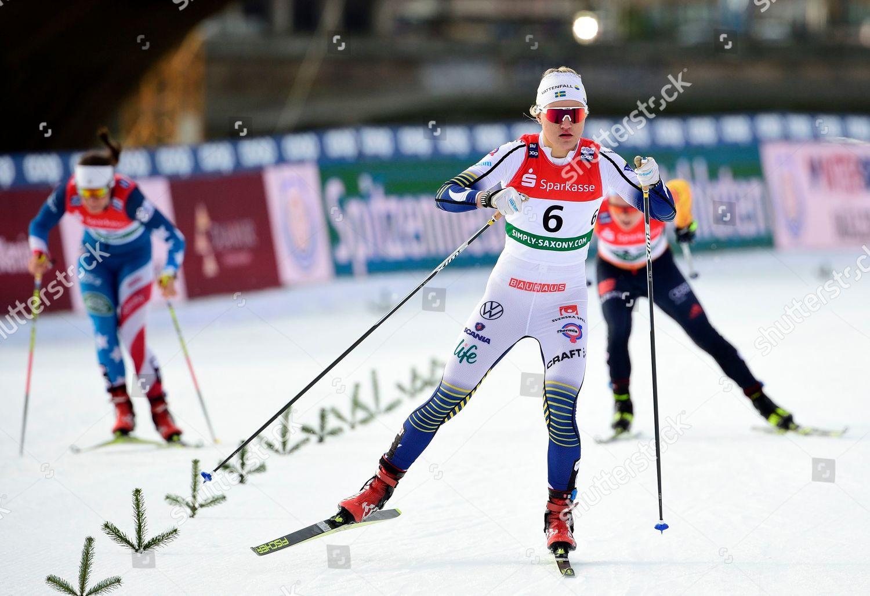 Swedens Linn Svahn Center Competes Womens Sprint Editorial Stock Photo Stock Image Shutterstock