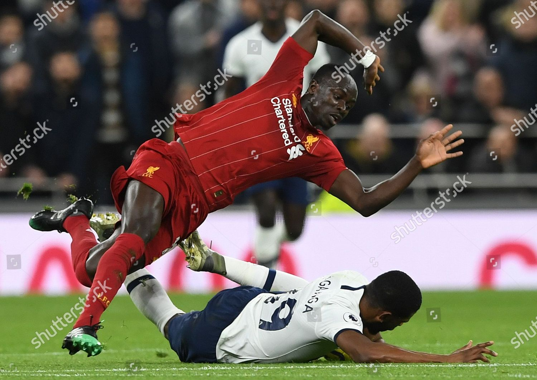 Tottenham Hotspurs Japhet Tanganga R Action Liverpools Editorial Stock Photo Stock Image Shutterstock