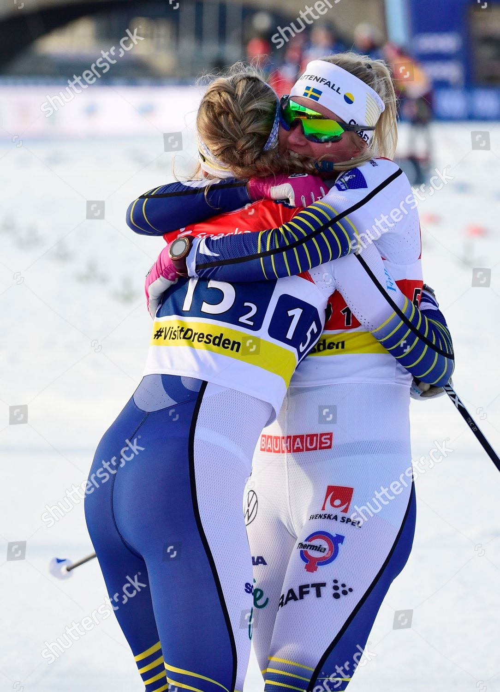 Swedens Linn Svahn Left Teammate Maja Dahlqvist Editorial Stock Photo Stock Image Shutterstock