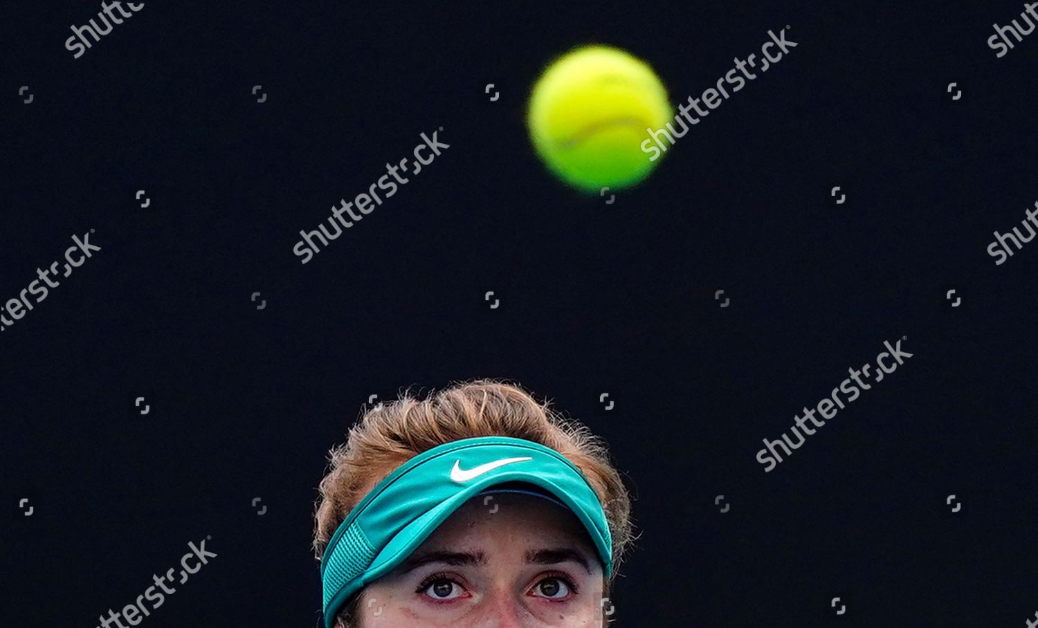Elina Svitolina Ukraine Watches Ball She Plays Editorial