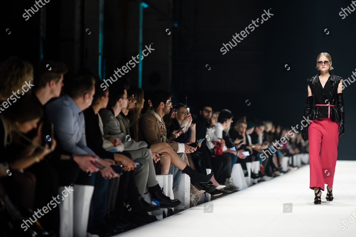 Model Presents Creation By Designer Irene Luft Editorial Stock Photo Stock Image Shutterstock