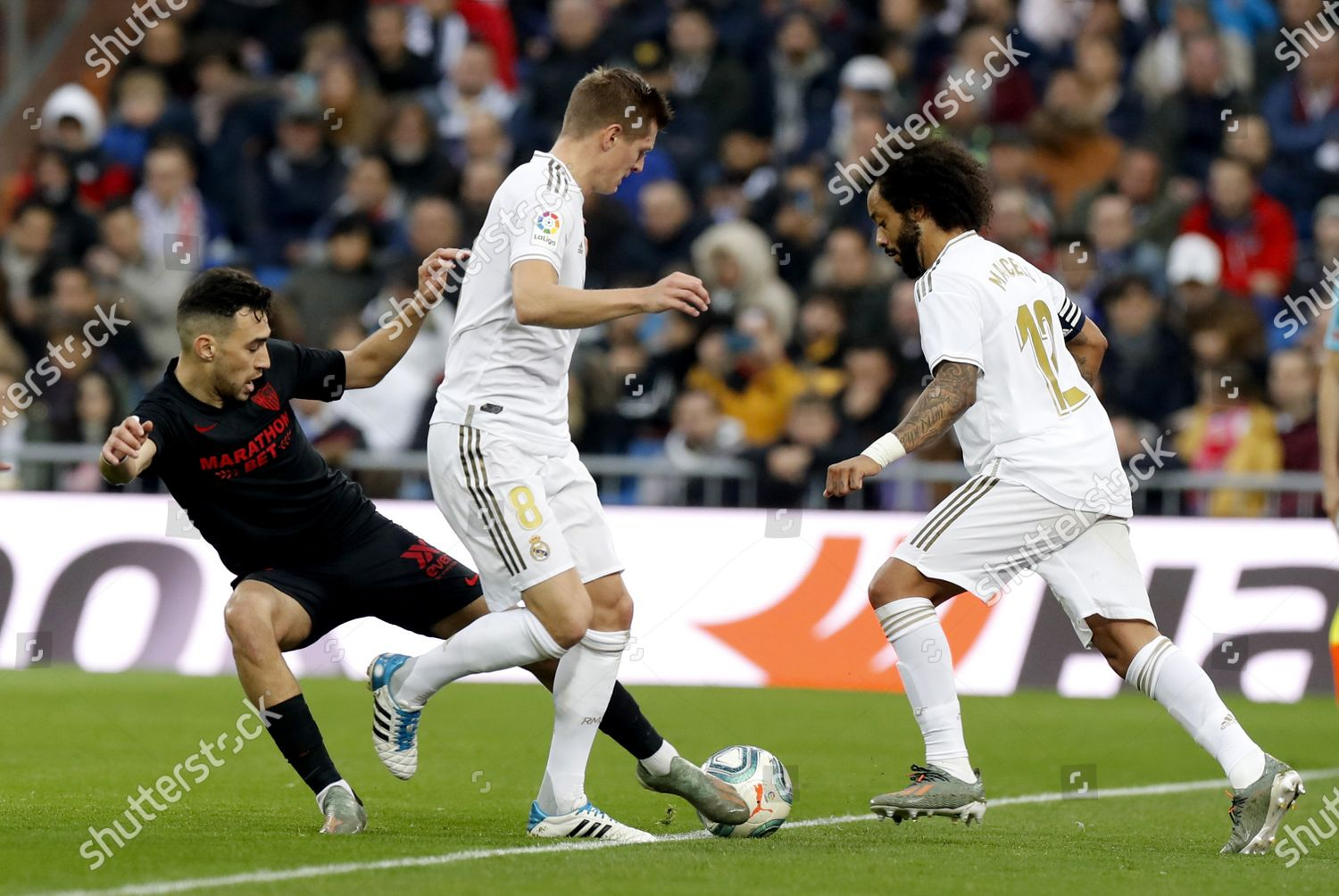 Real Madrids Toni Kroos C Marcelo R Editorial Stock Photo Stock