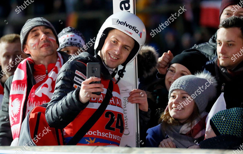 Simon Ammann Switzerland Do Selfy Fan During Editorial Stock Photo Stock Image Shutterstock