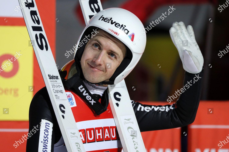 Simon Ammann Switzerland Reacts During Second Round Editorial Stock Photo Stock Image Shutterstock