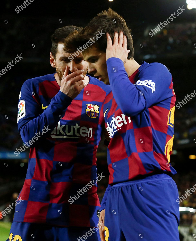 Fc Barcelonas Lionel Messi L Talks His Editorial Stock Photo Stock Image Shutterstock