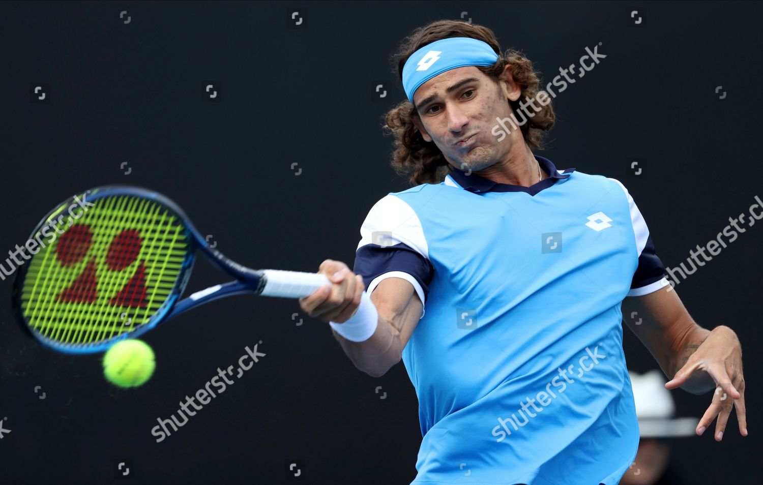 Lloyd Harris South Africa Makes Forehand Return Editorial Stock Photo Stock Image Shutterstock
