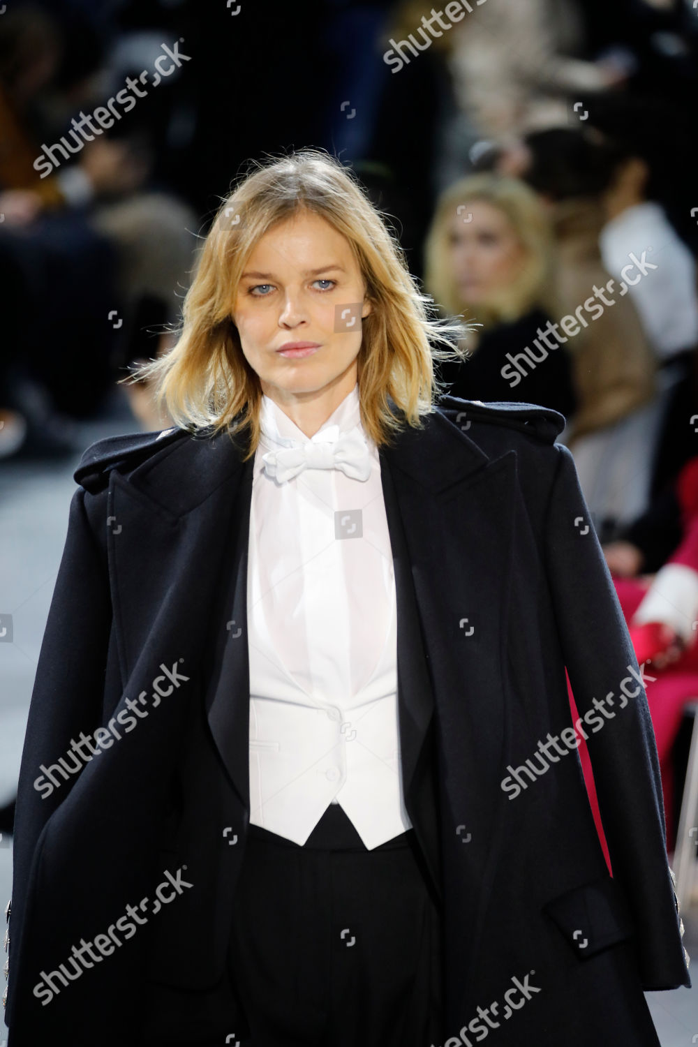 Model Eva Herzigova Wears Creation Alexandre Vauthier Editorial Stock Photo Stock Image Shutterstock