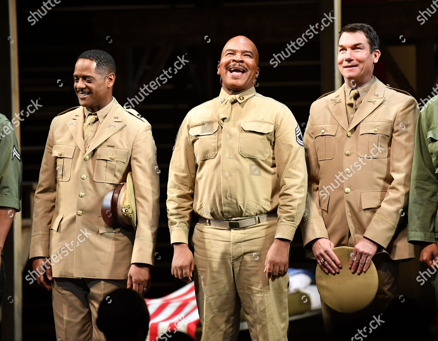 'A Soldier's Play' Broadway Opening, Curtain Call, New York, USA - 21 Jan 2020