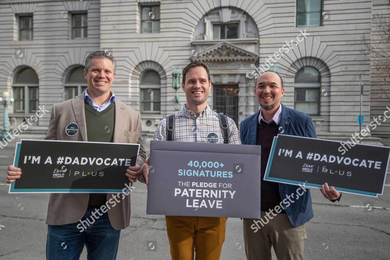 Stock photo of Dove Men+Care Dadvocate in , CA, San Francisco, USA - 22 Jan 2020