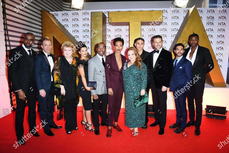 Stock photo of 25th National Television Awards, Arrivals, O2, London, UK - 28 Jan 2020