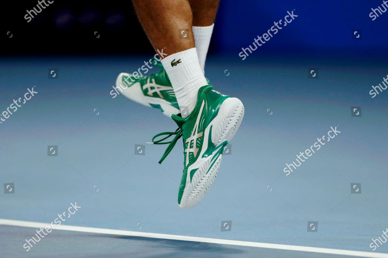 Close View Showing Shoes Novak Djokovic Serbia Editorial Stock Photo Stock Image Shutterstock