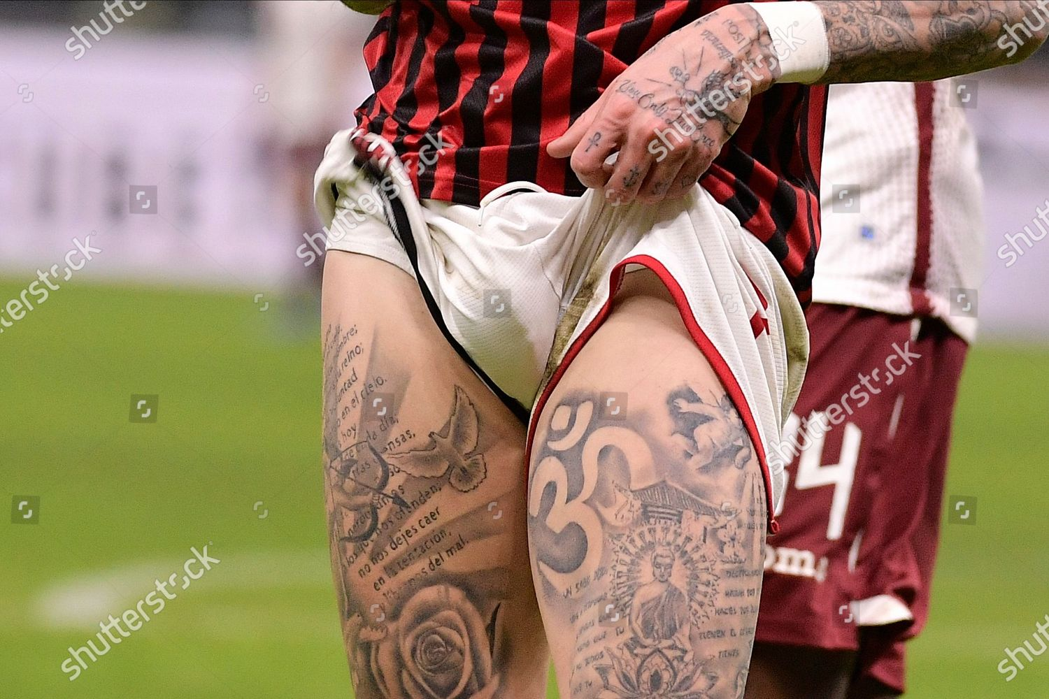 Samuel Castillejo Ac Milan Tattoo Editorial Stock Photo Stock Image Shutterstock