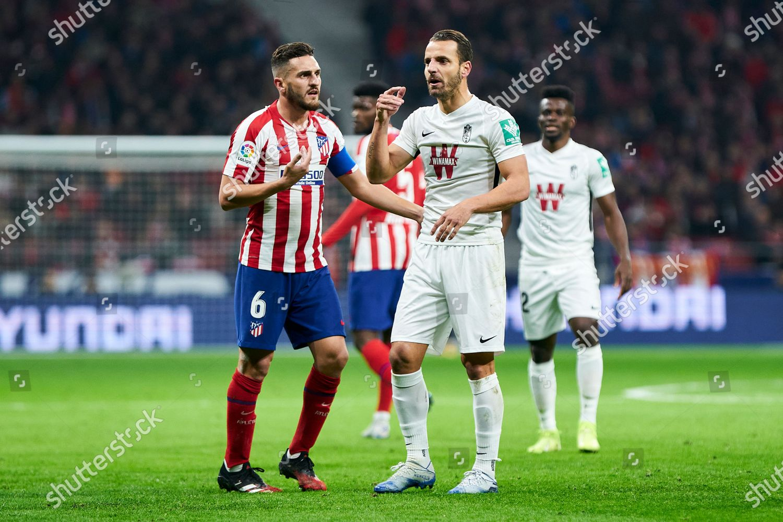 Jorge Resurreccion Koke Atletico de Madrid have Editorial St