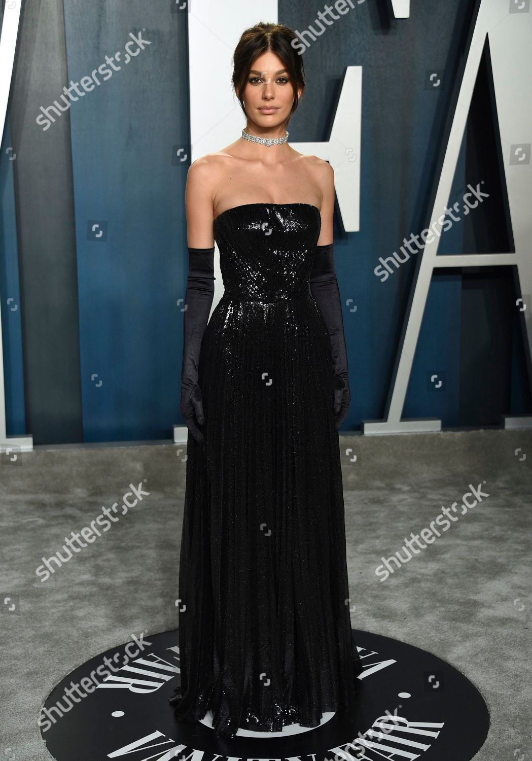Camila Morrone Arrives Vanity Fair Oscar Party Editorial Stock Photo Stock Image Shutterstock
