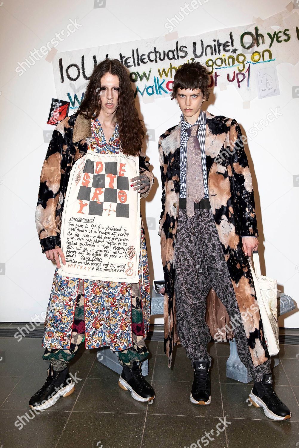 Models Wear Creations By Designer Vivienne Westwood Editorial Stock Photo Stock Image Shutterstock