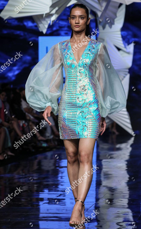 Model Presents Creation By Indian Designers Pankaj Editorial Stock Photo Stock Image Shutterstock