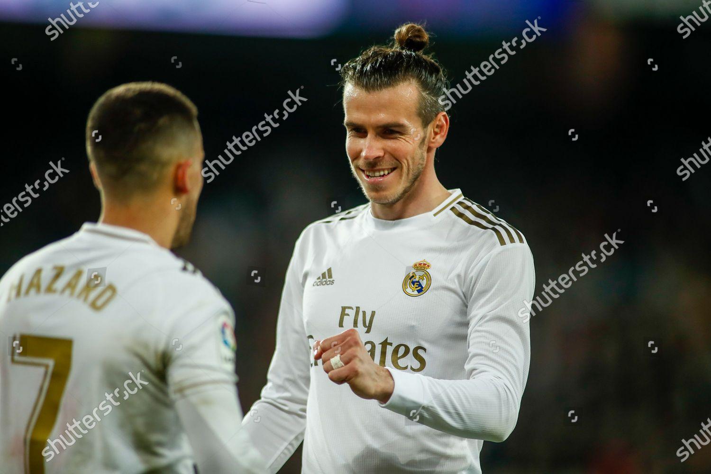 Gareth Bale Real Madrid Celebrates Penalti Eden Editorial Stock