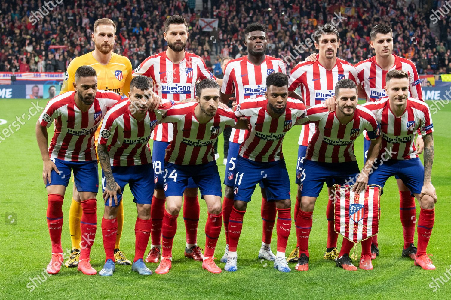 Atletico De Madrid Team Editorial Stock Photo Stock Image Shutterstock