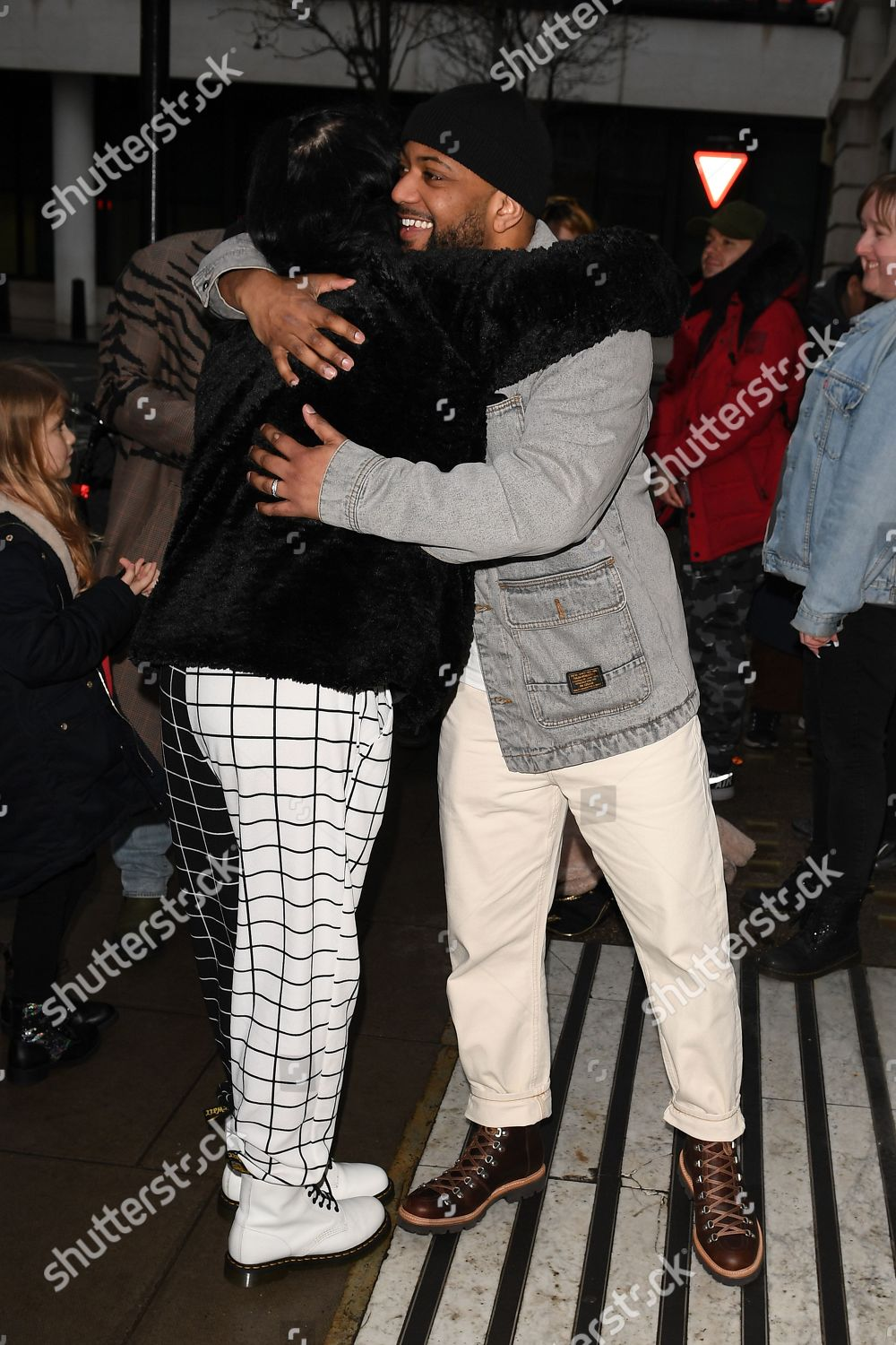 Stock photo of JLS out and about, London, UK - 20 Feb 2020