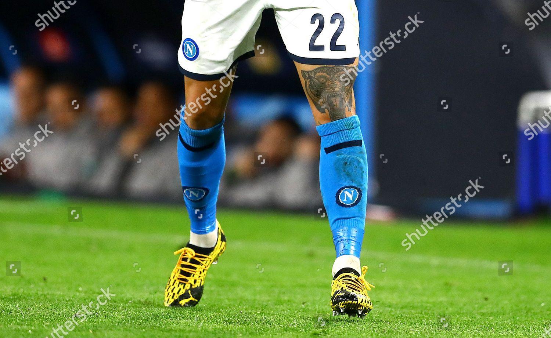 Tattoo On Thigh Giovanni Di Lorenzo Napoli Editorial Stock Photo Stock Image Shutterstock