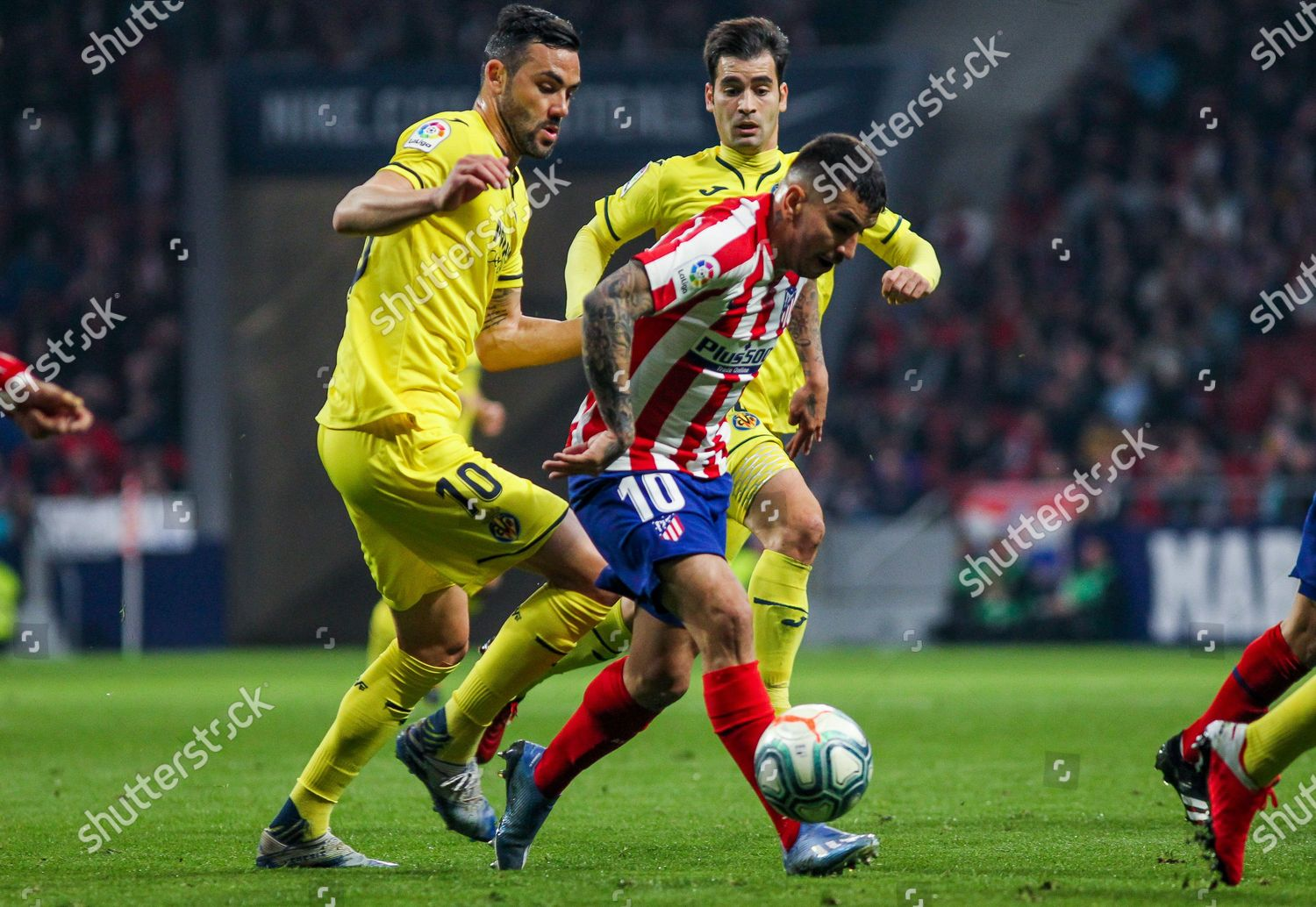 Angel Correa Atletico de Madrid Vicente Iborra Editorial Sto