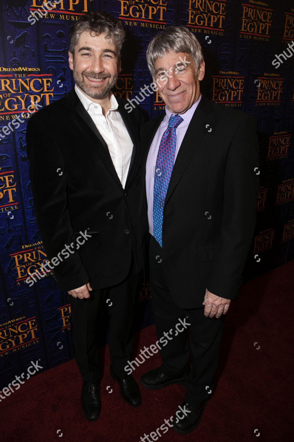 Stock photo of 'The Prince of Egypt' arrivals, Gala Night, London, UK - 25 Feb 2020